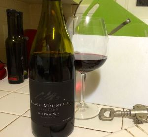 Black Mountain Pinot Noir 2012